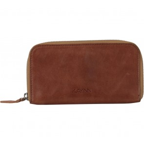 Kaynn Brown Leather Wallet