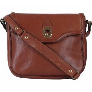 Massimo Dutti Brown Sling Bag