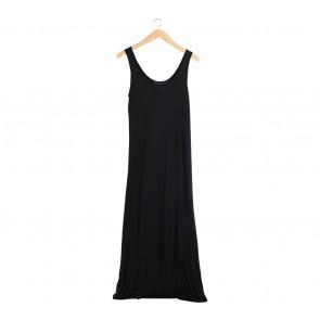 Cotton On Black Long Dress