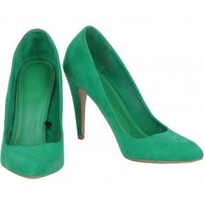 Zara Green Heels