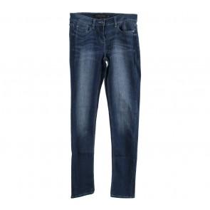 Next Dark Blue Washed Pants
