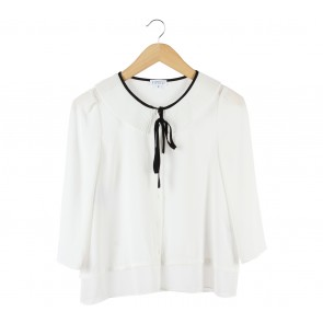 Claudie Pierlot White Blouse