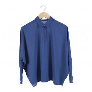 Cotton Ink Blue Blouse