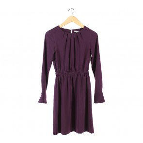 H&M Purple Mini Dress