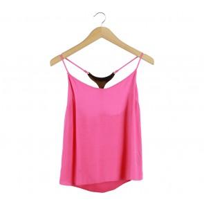 Miss Selfridge Pink Sleeveless