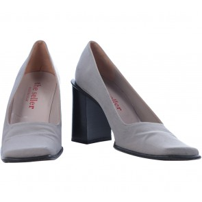 The Seller Grey Heels