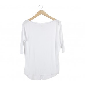 Stradivarius White T-Shirt