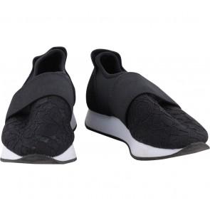 Zara Black Floral Sneakers