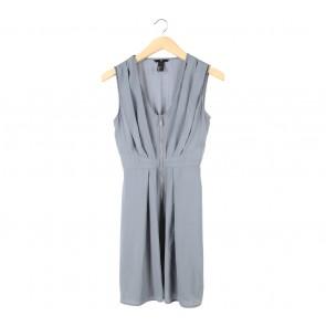 H&M Grey Mini Dress