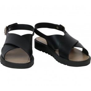 VNC Black Sandals