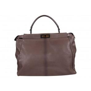 Fendi Dark Grey Shoulder Bag