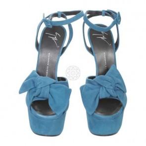 Giuseppe Zanotti Blue Sandals