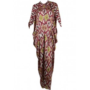 Febianihermaini Multi Colour Caftan Long Dress