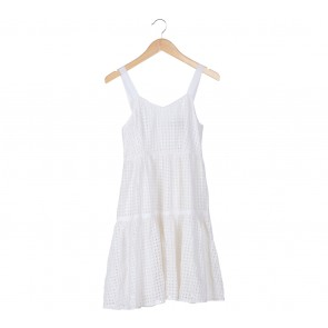DKNY White Mini Dress