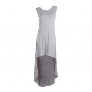 Milcah Grey Sleeveless Mini Dress
