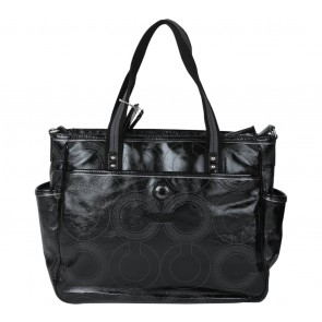 Coach Black Diaper  Tote Bag