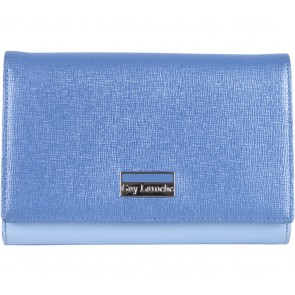 Guy Laroche Blue Folded Wallet