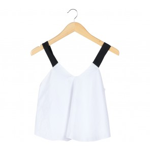 The Editor´s Market Black And White Cropped Sleeveless