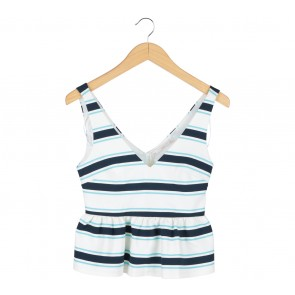 Zara Multi Colour Striped Sleeveless
