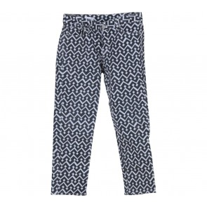 GAP Black And White Pants