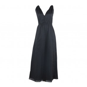 GAP Black Sleeveless Long Dress