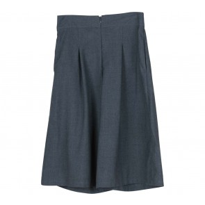 Cotton Ink Grey Cullote Pants