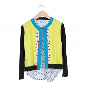 Oline Workrobe Multi Colour Cardigan