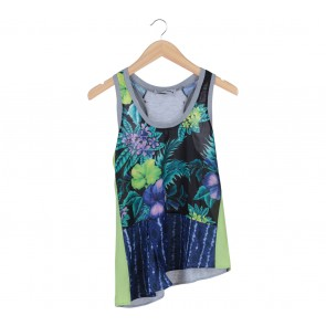 Bloom Multi Colour Floral Sleeveless