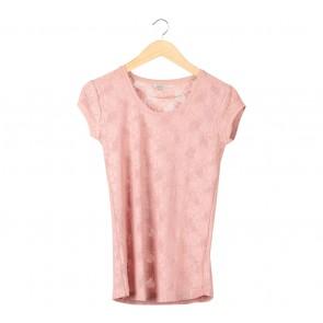 Zara Pink Floral T-Shirt