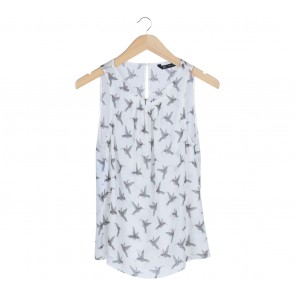 Zara White Sleeveless