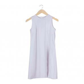 Cotton Ink White Slit Sleeveless