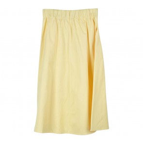 Zara Yellow Midi Skirt