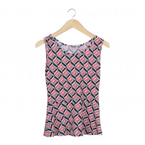 Fond Multi Colour Patterned Sleeveless