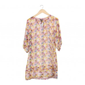 iRoo Multi Colour Floral Tunic Blouse