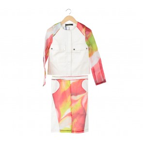 Zardoze Multi Colour (Skirt and Jacket) Two Piece