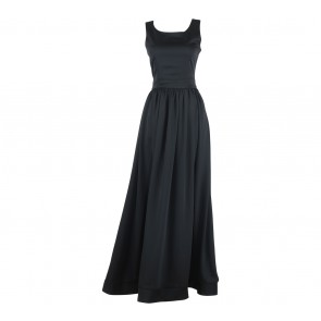All Would Envy Black Sleeveless Long Dress