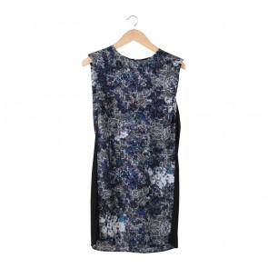 Warehouse Multi Colour Floral Mini Dress