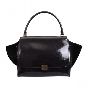 Cline Black Tote Bag