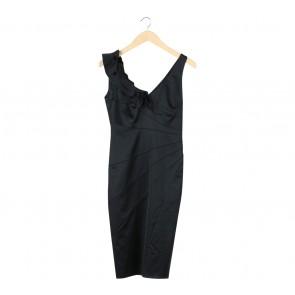 Coast Black Midi Dress