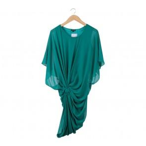 TFNC London Green Tied Mini Dress