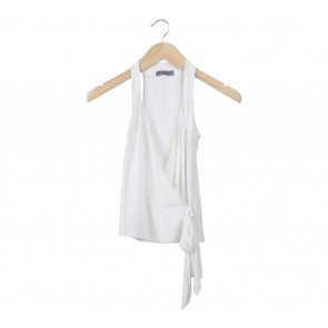 Arithalia Off White Wrap Sleeveless