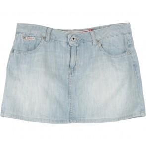 Guess Light Blue Denim Short Skirt