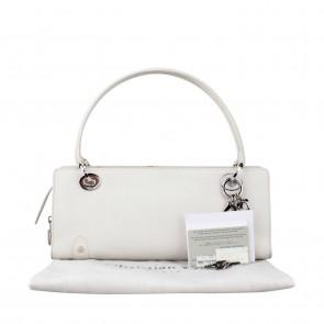 Christian Dior White Shoulder Bag
