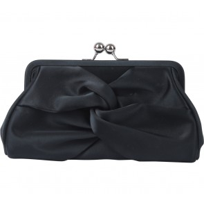 Alice Black Clutch