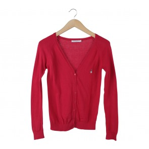 Hush Puppies Red Cardigan
