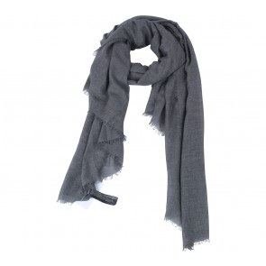 Mango Dark Grey Scarf