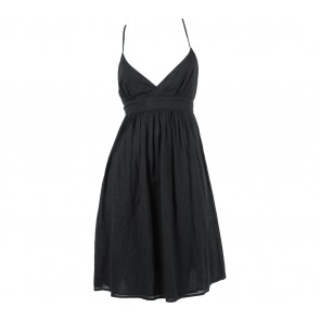 Zara Black Baby Doll Mini Dress