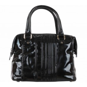 Calvin Klein Black Patent Handbag