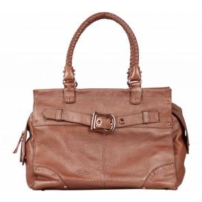 Raoul Bronze Belted Handbag