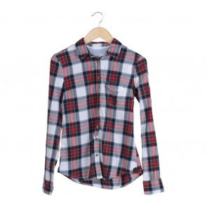 H&M Multi Colour Tartan Shirt